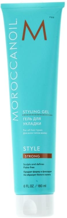 Гел за силно фиксиране на косата - Moroccanoil Styling Gel Strong — снимка N2