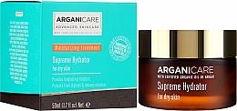Парфюмерия и Козметика Овлажняващ крем за лице - Arganicare Shea Butter Supreme Hydrator