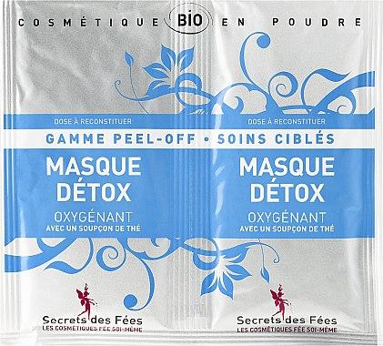 """Освежаваща маска за лице """"Детокс"""" - Secrets des Fees Mask — снимка N1"""