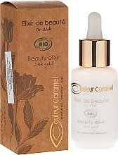 Парфюмерия и Козметика Еликсир за лице - Couleur Caramel Elixir De Beaute Oro 24K