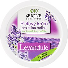 Парфюми, Парфюмерия, козметика Универсален семеен крем с лавандула - Bione Cosmetics Lavender Facial Cream Whole Family