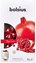 """Парфюмерия и Козметика Ароматен восък """"Нар"""" - Bolsius True Scents Pomegranate"""