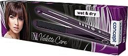 Парфюми, Парфюмерия, козметика Преса за коса - Concept Wet and Dry Violette Care VZ-1330