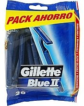 Парфюми, Парфюмерия, козметика Комплект самобръсначки, 20бр. - Gillette Blue II