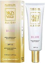 Парфюми, Парфюмерия, козметика Дневен крем за лице SPF15 - Floslek Skin Care Expert All-Day Base Smoothing Cream