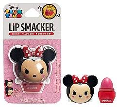 """Парфюмерия и Козметика Балсам за устни """"Ягода"""" - Lip Smacker Tsum Tsum Minnie Strawberry Lollipop"""
