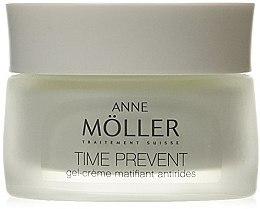 Парфюми, Парфюмерия, козметика Крем гел за лице - Anne Moller Time Prevent Gel-Cream Matifiant Antirides