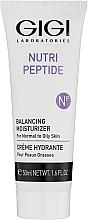 Парфюмерия и Козметика Пептиден крем за лице за мазна и комбинирана кожа - Gigi Nutri-Peptide Balancing Moisturizer Oily Skin