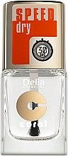 Парфюми, Парфюмерия, козметика Фиксиращ лак, с ефект на бързо изсъхване - Delia Speed Dry Top Coat