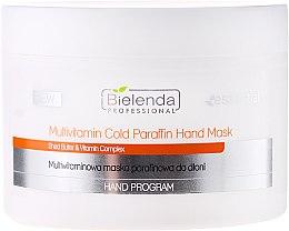 Парфюмерия и Козметика Мултивитаминна маска за ръце - Bielenda Professional Multivitamin Cold Paraffin Hand Mask