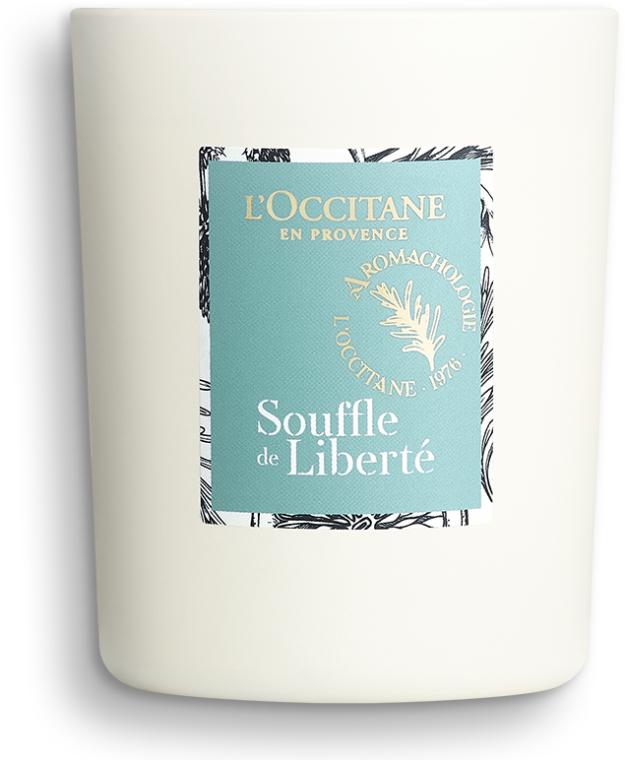 Възстановяваща ароматна свещ - L'Occitane Revitalizing Candle Breath Of Freedom — снимка N2
