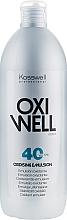 Парфюмерия и Козметика Емулсия-оксидант 12% - Kosswell Professional Oxidizing Emulsion Oxiwell 12% 40 vol