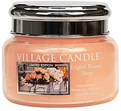 Парфюми, Парфюмерия, козметика Ароматна свещ в бурканче - Village Candle English Flower Shop Glass Jar