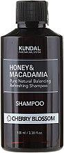 """Парфюми, Парфюмерия, козметика Балсансиращ и освежаващ шампоан за коса """"Вишнев цвят"""" - Kundal Honey & Macadamia Cherry Blossom Shampoo"""