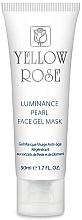 Парфюмерия и Козметика Гел-маска за лице с перли и диамантен прах (тубичка) - Yellow Rose Luminance Pearl Face Gel Mask