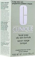 Парфюми, Парфюмерия, козметика Сапун за мазна кожа - Clinique Oily Skin Facial Soap
