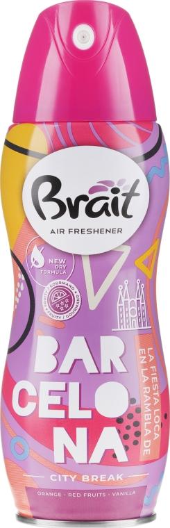 "Ароматизатор за дома ""City Break -Barcelona"" - Brait Dry Air"