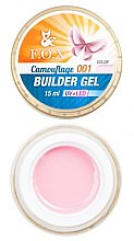 Парфюми, Парфюмерия, козметика Камуфлажен гел за нокти, 15 мл. - F.O.X Cover Camouflage Builder Gel