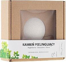 Парфюмерия и Козметика Натурален пилинг камък за лице, бял - Pierre de Plaisir Natural Scrubbing Stone Face