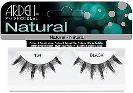 Парфюми, Парфюмерия, козметика Изкуствени мигли - Ardell Natural Lash 134 Black