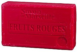 """Парфюмерия и Козметика Натурален сапун """"Червени плодове"""" - Le Chatelard 1802 Red Fruit Soap"""