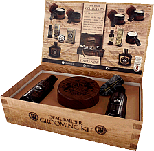 Парфюмерия и Козметика Комплект - Dear Barber IV Shave Care Collection (shave/cr/100ml + shave/oil/30ml + edt/30ml)