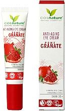 Парфюмерия и Козметика Околоочен крем с нар - Cosnature Eye Cream Pomegranate