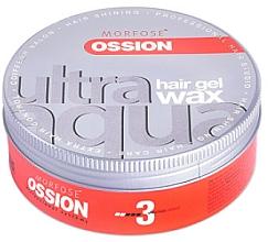 Парфюмерия и Козметика Восък за коса - Morfose Ossion Ultra Aqua Hair Red Gel Wax