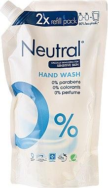 Гъст сапун - Neutral 0% Hand Wash (пълнител) — снимка N1