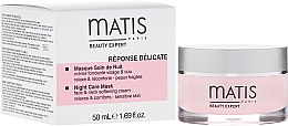 Парфюмерия и Козметика Нощна маска за лице - Matis Paris Reponse Delicate Night Care Mask