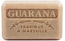 Парфюмерия и Козметика Марсилски сапун с гуарана - Foufour Savonnette Marseillaise Guarana
