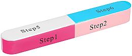 Парфюми, Парфюмерия, козметика 7-степенна полираща пила за нокти - Tools For Beauty 7-way Nail Buffer Block