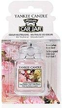 Парфюми, Парфюмерия, козметика Ароматизатор за кола - Yankee Candle Car Jar Ultimate Fresh Cut Roses