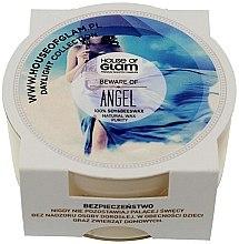Парфюмерия и Козметика Соева ароматна свещ - House of Glam Beware of Angel Candle (мини)