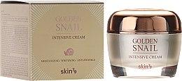 Парфюмерия и Козметика Крем за лице със злато и екстракт от охлюв - Skin79 Golden Snail Intensive Cream