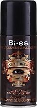 Парфюмерия и Козметика Дезодорант за мъже - Bi-es Royal Brand Gold