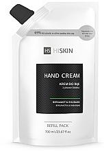 Парфюмерия и Козметика Крем за ръце с бергамот и ревен - HiSkin Bergamot & Rhubarb Hand Cream Refill Pack (пълнител)