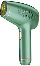 Парфюмерия и Козметика Лазерен епилатор, W-1091, зелен - Deni Carte Laser Hair Removal IPL