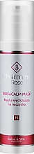 Парфюмерия и Козметика Успокояваща маска за кожа с розацея - Charmine Rose Rosacalm Mask