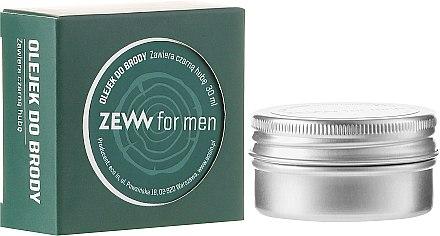 Масло за брада - Zew For Men Beard Oil — снимка N1