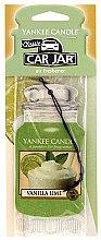 Парфюмерия и Козметика Ароматизатор за кола - Yankee Candle Car Jar Vanilla Lime