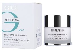 Парфюмерия и Козметика Овлажняващ крем за суха кожа - Gigi Bioplasma Moist Dry SPF-20