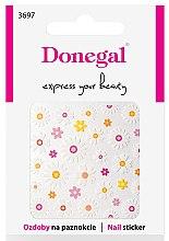 Парфюмерия и Козметика Декориращи лепенки за нокти, 3697 - Donegal