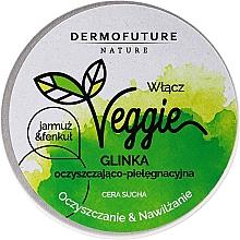 Парфюмерия и Козметика Почистваща паста за лице с кале и резене - DermoFuture Veggie Kale & fennel Pasta