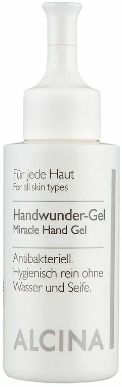 Антибактериален гел за ръце - Alcina B Hand Wunder Gel — снимка N1