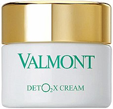 Парфюмерия и Козметика Кислороден крем-детокс за лице - Valmont Deto2x Cream