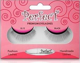 Парфюмерия и Козметика Изкуствени мигли, 12 - Aden Cosmetics Fashion Lashes