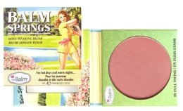 Парфюмерия и Козметика Руж-бронзант - theBalm Balm Springs Long-Wearing Blush