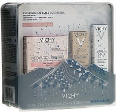 Парфюми, Парфюмерия, козметика Комплект за лице - Vichy Neovadiol Rose Platinum (крем/3ml + крем/50ml + бустер/10ml)