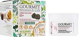 Парфюми, Парфюмерия, козметика Подмладяващ нощен крем за лице 65+ - BelKosmex Gourmet Delicatesse De Truffe Cream